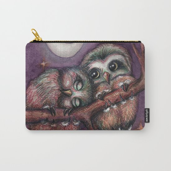 Owls in love II Carry-All Pouch