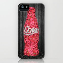 Flower Coke iPhone Case