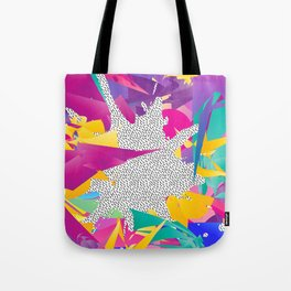 80s Abstract Tote Bag