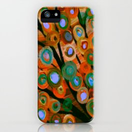 Fall Red Leaves Tree iPhone Case