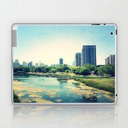 Pond Inside Concrete Jungle  Laptop & iPad Skin