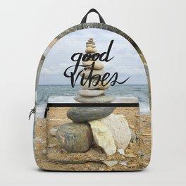 Good Vibes - Rock balancing Backpack
