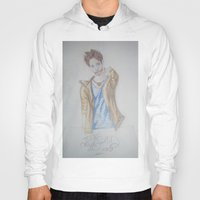 jared leto Hoodies featuring Jared leto by TheArtOfFaithAsylum