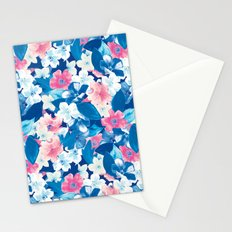 Bloom Blue Stationery Cards