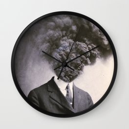 Outburst Wall Clock