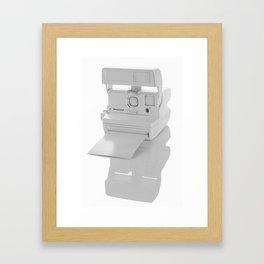 Instant Monochrome Framed Art Print