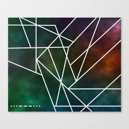 Intergalactic SOS Canvas Print