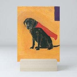 trusty sidekick - by phil art guy Mini Art Print