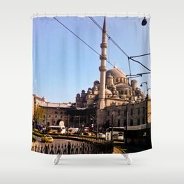 The last mosque. Shower Curtain