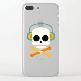 Life is cool Clear iPhone Case