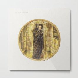 Golden Shower from The Flower Book (1905) by Sir Edward Burne–Jones Metal Print