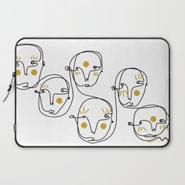 Mellow faces Laptop Sleeve