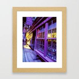 Diagon Alley  Framed Art Print