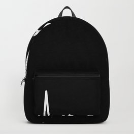 Gift for Guitarist Guitar Heartbeat Line Backpack