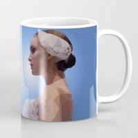 swan queen Mugs featuring Swan Queen by Apt108