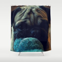 puggy Shower Curtain