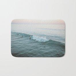 Let's Surf V Bath Mat