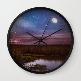 Goodnight, Louisiana Wall Clock