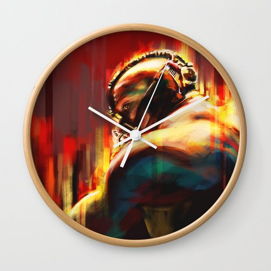 Break Wall Clock