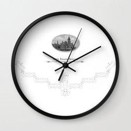 Danvers - State Insane Asylum, Danvers, MA Wall Clock