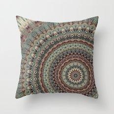Mandala 543 Throw Pillow