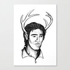Deer John Canvas Print