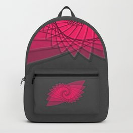 hypnotized - fluid geometrical eye shape Backpack