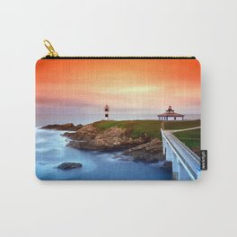 Idyllic view on seashore of Pancha island, Spain Carry-All Pouch