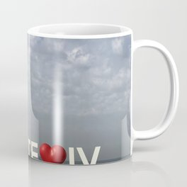 Tel Aviv Port Photography - TE(love)IV Sign Coffee Mug