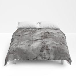SMOKE GRAY PRINT Comforters
