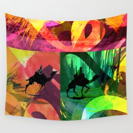 Desert Abstract Wall Tapestry