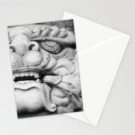 Foo Dog - black and white Stationery Cards