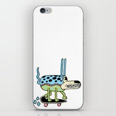 The Skate Pup iPhone & iPod Skin