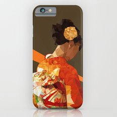 Polygonal kimono girl Slim Case iPhone 6