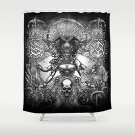 Winya No.85 Shower Curtain