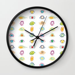 Galactic Audience Wall Clock
