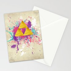 Splash Triforce Stationery Cards