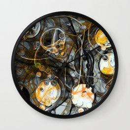 Indestructible Sorrow Wall Clock