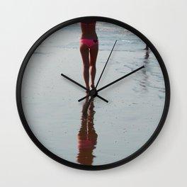 Along the Shoreline Arambol Wall Clock