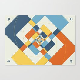 Fibonacci Experiment V Canvas Print