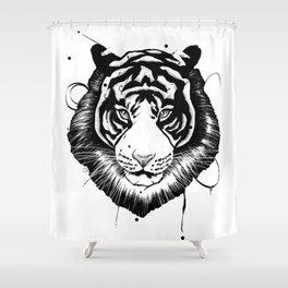 tigerjonz Shower Curtain