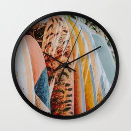 lets surf xi Wall Clock