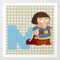 n for noble Art Print