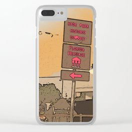 Hyde Park, Historic District, Tampa Florida Clear iPhone Case