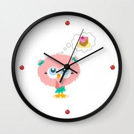 Mi pastelito Wall Clock