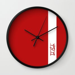 Mini 'John Cooper' Red Collection Wall Clock