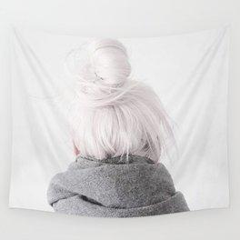 grey hair Wall Tapestry