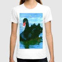 noir T-shirts featuring NOIR by FOXART  - JAY PATRICK FOX
