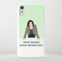 What Would Olivia Benson Do? iPhone Case
