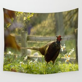 Mr Spring Wall Tapestry